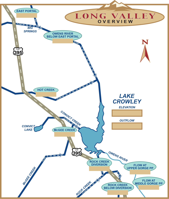 Owens Valley Aqueduct Map
